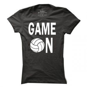 Dámské tričko na volejbal Game on