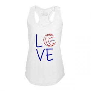 Dámské volejbalové boxer tílko Volleybal Love