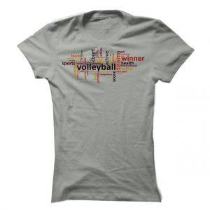 Dámské volejbalové tričko Volleyball Signs