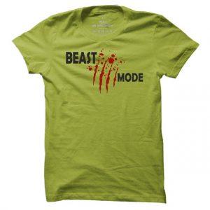Fitness tričko Beast Mode pro muže