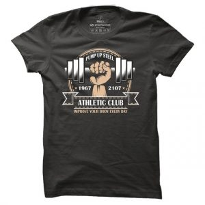 Fitness tričko Pump Up Steel pro muže