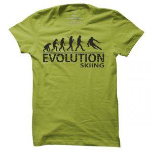 Lyžařské tričko Lyže evoluce pro muže
