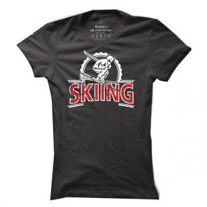 Lyžařské tričko Skiing pro ženy