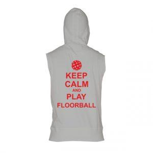 Pánská floorballová vesta Keep calm and play Floorball