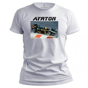 Pánské F1 tričko Ayrton 1985