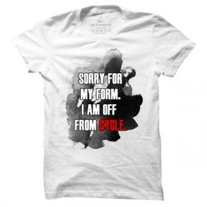 Pánské OŠ tričko Off cycle