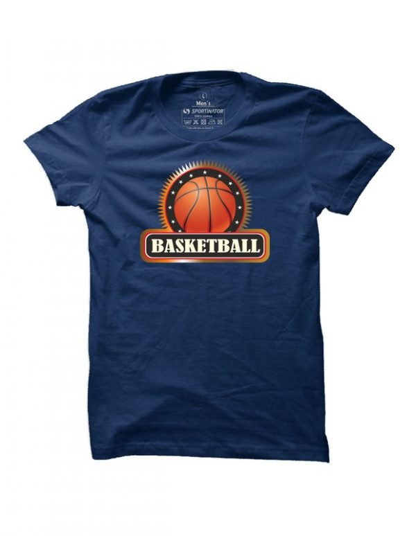 Pánské basketbalové tričko Basketball Badge