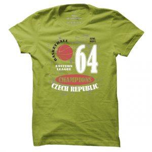 Pánské basketbalové tričko Czech Republic 64