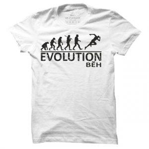 Pánské běžecké tričko Běh evoluce