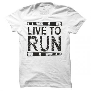 Pánské běžecké tričko Live to run