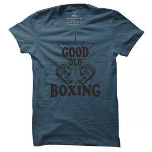 Pánské boxerské tričko Good old boxing