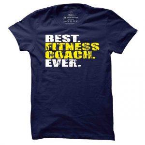 Pánské fitness tričko Best Fitness Coach