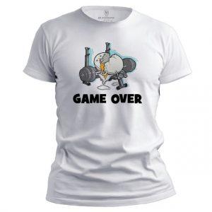Pánské fitness tričko Game over