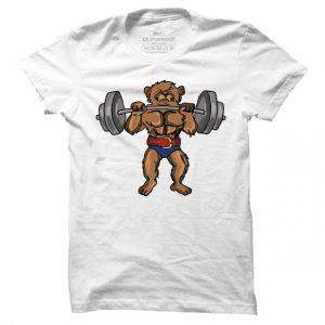 Pánské fitness tričko Teddy Bear