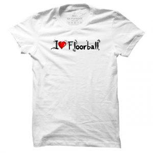 Pánské floorbalové tričko I Love Floorball