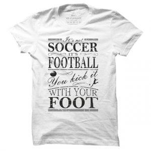 Pánské fotbalové tričko Its Not Soccer