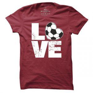 Pánské fotbalové tričko Love football