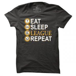 Pánské herní tričko League cycle