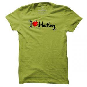 Pánské hokejové tričko I Love Hockey
