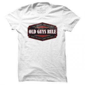 Pánské moto tričko Old guys rule - badge