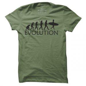 Pánské surfové tričko Surf evoluce