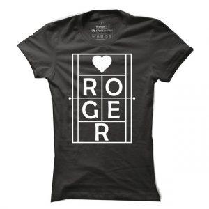 Pánské tenisové tričko ROGER