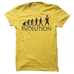 Pánské tenisové tričko Tenis evoluce