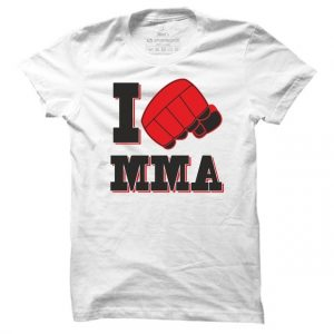 Pánské tričko I love mma