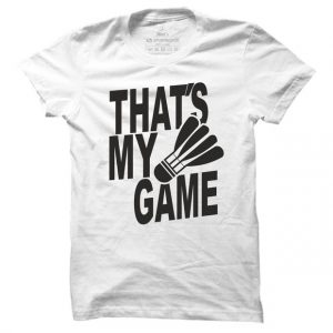 Pánské tričko na badminton My game