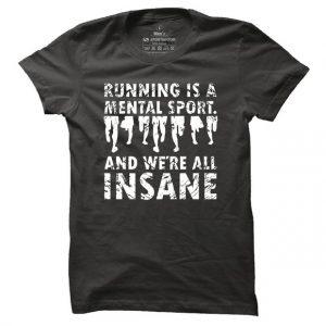 Pánské tričko na běh Insane