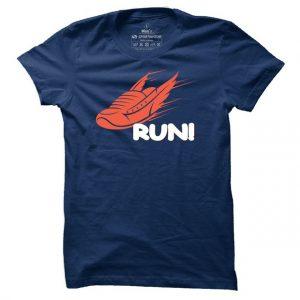 Pánské tričko na běhání Run!