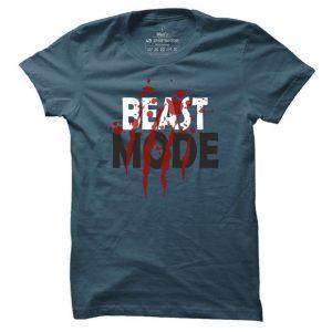 Pánské tričko na fitness Beast Mode Rough