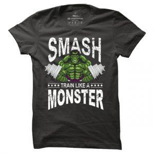 Pánské tričko na fitness Hulk Smash