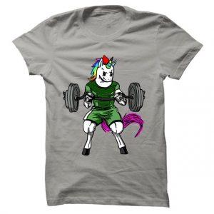 Pánské tričko na fitness Lifting Unicorn