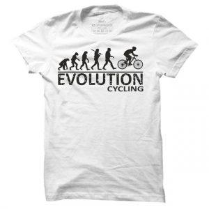 Pánské tričko na kolo Cyklo evoluce