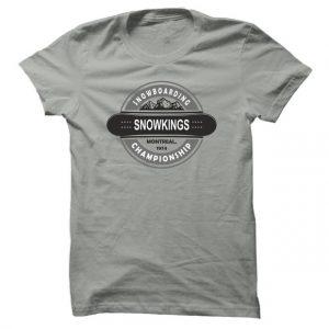 Pánské tričko na snowboard Snowkings
