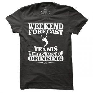 Pánské tričko na tenis Weekend forecast tennis