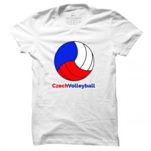 Pánské volejbalové tričko Czech Volleyball