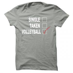 Pánské volejbalové tričko Single taken volleyball
