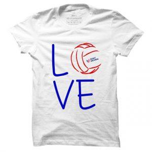 Pánské volejbalové tričko Volleybal Love