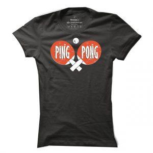 Ping pongové tričko Ping Pong Cross pro ženy
