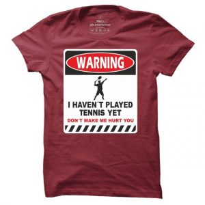 Tenisové tričko Warning Tennis pro muže