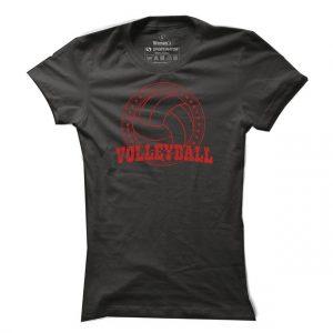 Volejbalové tričko Volleyball Stamp pro ženy