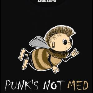 Punks Not Med dámské tričko