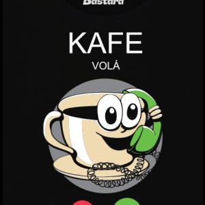 Kafe volá dámské tričko