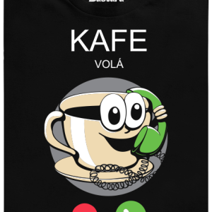 Kafe volá pánské tričko