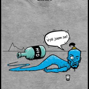 Vylitej gin pánské tričko